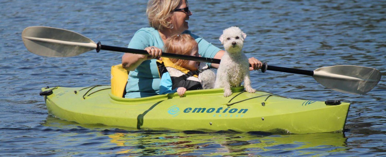 Take advantage of our kayak rentals on Lake Wallenpaupack