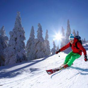 skiing in the poconos