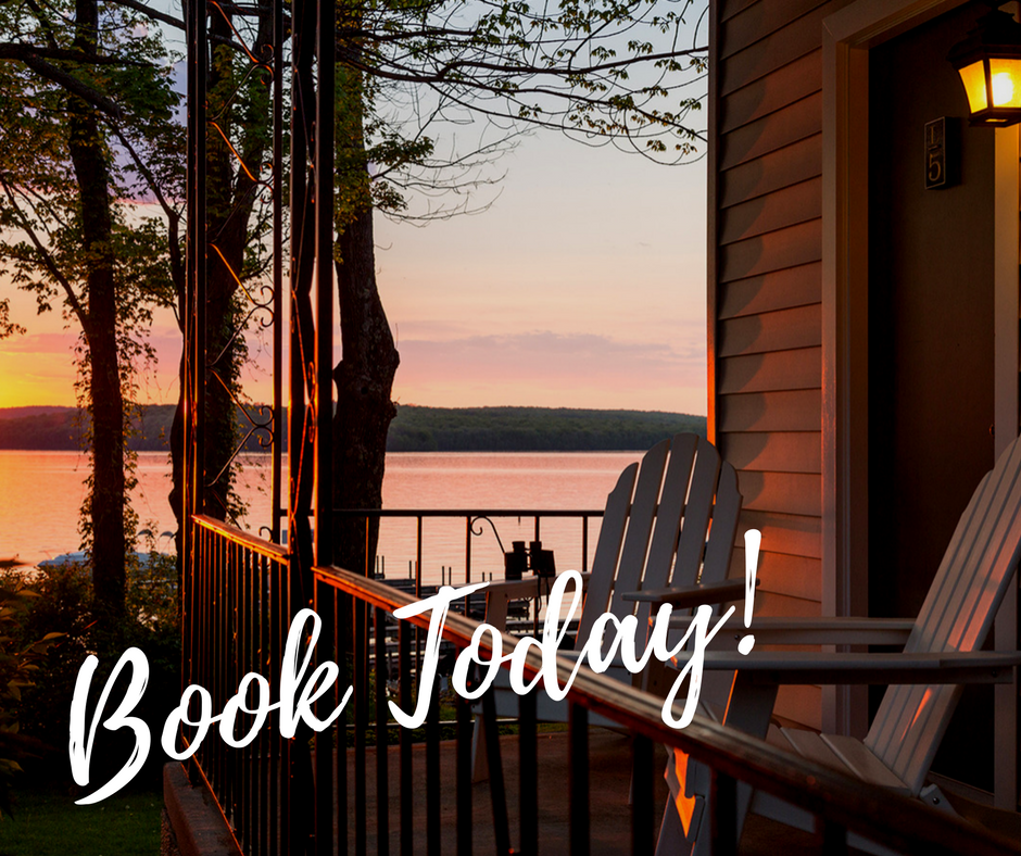 Book Today! Lakeview at Dusk
